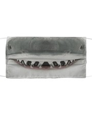 Shark Face  Cloth face mask front