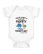 HAPPY FIRST MOTHER'S DAY Baby Onesie front