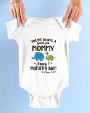 HAPPY FIRST MOTHER'S DAY Baby Onesie garment-baby-onesie-lifestyle-front-02