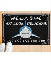 "You Look Delicious  Doormat 22.5"" x 15""  aos-doormat-22-5x15-lifestyle-front-03"
