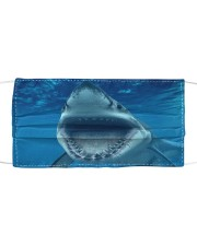 Funny Shark Face Cloth face mask front
