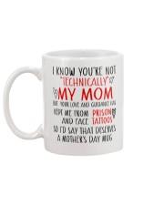 Technically mom - Gift for Stepmoms Mug back