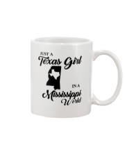 JUST A TEXAS GIRL IN A MISSISSIPPI WORLD Mug thumbnail