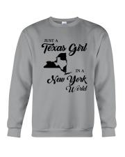 JUST A TEXAS GIRL IN A NEW YORK WORLD Crewneck Sweatshirt thumbnail