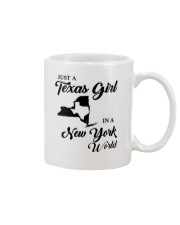 JUST A TEXAS GIRL IN A NEW YORK WORLD Mug thumbnail