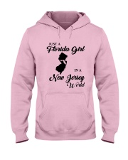 JUST A FLORIDA GIRL IN A NEW JERSEY WORLD Hooded Sweatshirt front
