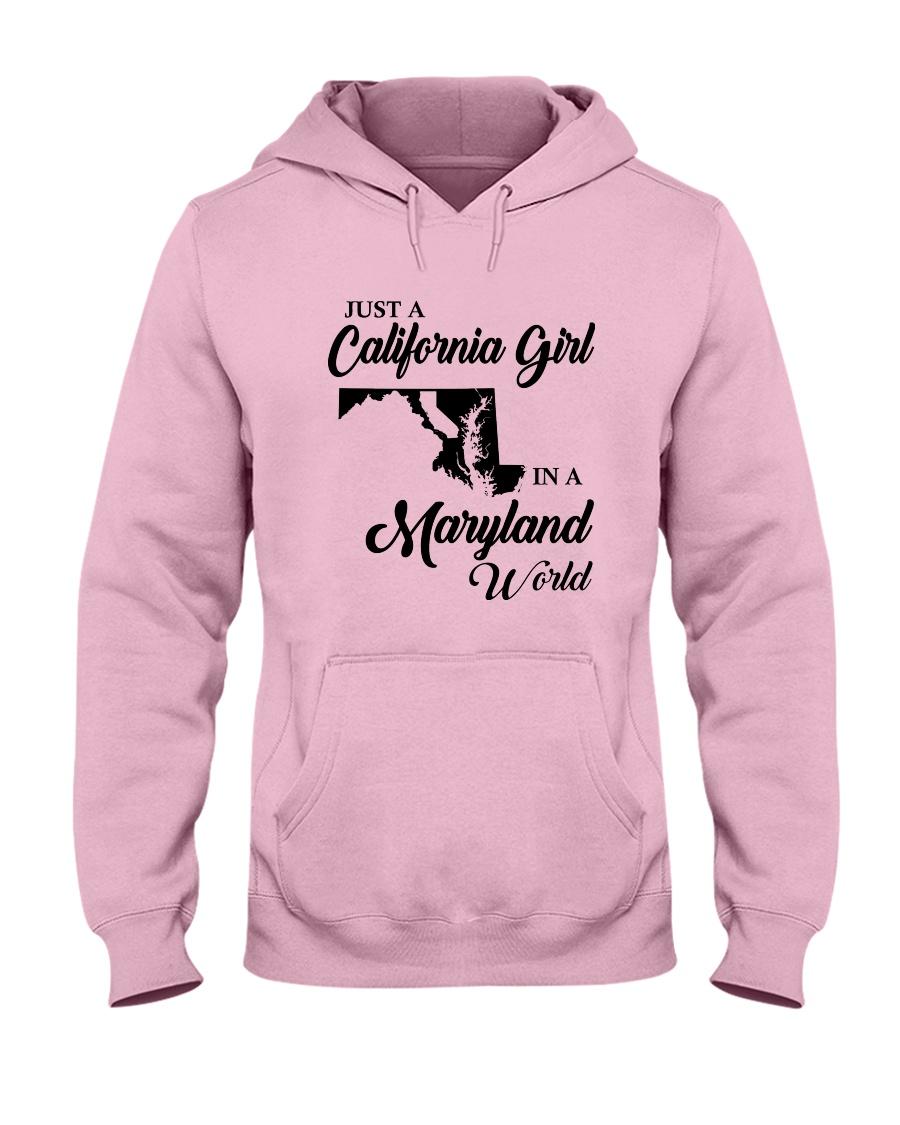 JUST A CALIFORNIA GIRL IN A MARYLAND WORLD Hooded Sweatshirt
