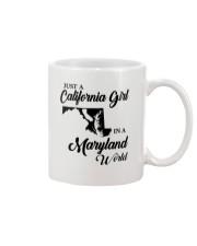 JUST A CALIFORNIA GIRL IN A MARYLAND WORLD Mug thumbnail