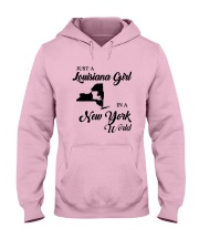 JUST A LOUISIANA GIRL IN A NEW YORK WORLD Hooded Sweatshirt front