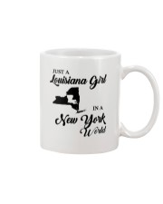 JUST A LOUISIANA GIRL IN A NEW YORK WORLD Mug thumbnail