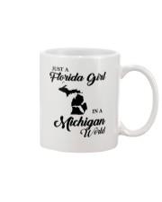 JUST A FLORIDA GIRL IN A MICHIGAN WORLD Mug thumbnail