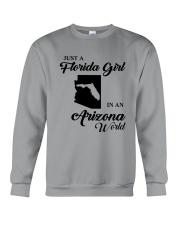 JUST A FLORIDA GIRL IN AN ARIZONA WORLD Crewneck Sweatshirt thumbnail