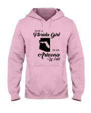 JUST A FLORIDA GIRL IN AN ARIZONA WORLD Hooded Sweatshirt front