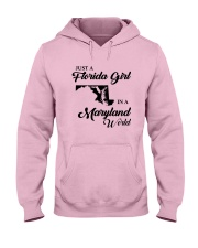 JUST A FLORIDA GIRL IN A MARYLAND WORLD Hooded Sweatshirt front