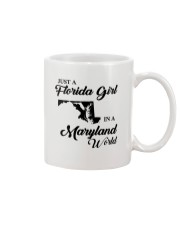 JUST A FLORIDA GIRL IN A MARYLAND WORLD Mug thumbnail