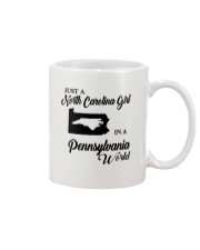 JUST A NORTH CAROLINA GIRL IN A PENNSYLVANIA WORLD Mug thumbnail