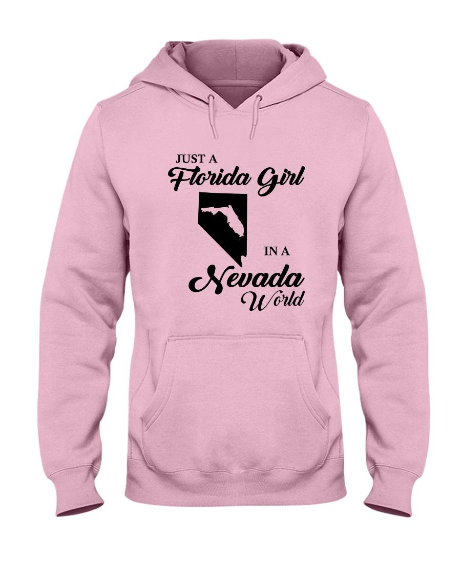 JUST A FLORIDA GIRL IN A NEVADA WORLD Hooded Sweatshirt