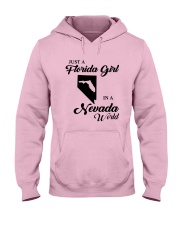 JUST A FLORIDA GIRL IN A NEVADA WORLD Hooded Sweatshirt front