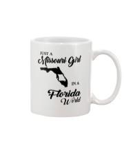 JUST A MISSOURI GIRL IN A FLORIDA WORLD Mug thumbnail