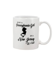 JUST A PENNSYLVANIA GIRL IN A NEW JERSEY WORLD Mug thumbnail