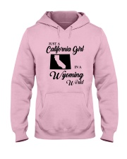 JUST A CALIFORNIA GIRL IN A WYOMING WORLD Hooded Sweatshirt thumbnail
