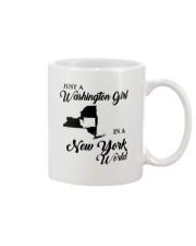 JUST A WASHINGTON GIRL IN A NEW YORK WORLD Mug thumbnail
