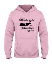JUST A FLORIDA GIRL IN A TENNESSEE WORLD Hooded Sweatshirt front