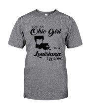 JUST An OHIO GIRL IN A LOUISIANA WORLD Classic T-Shirt thumbnail
