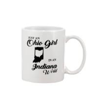 JUST An OHIO GIRL IN An INDIANA WORLD Mug thumbnail