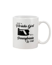 JUST A FLORIDA GIRL IN A PENNSYLVANIA WORLD Mug thumbnail