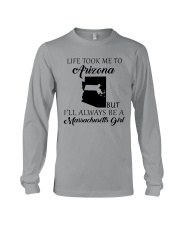 LIFE TOOK ME TO ARIZONA - MASSACHUSETTS Long Sleeve Tee thumbnail