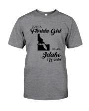 JUST A FLORIDA GIRL IN AN IDAHO WORLD Classic T-Shirt thumbnail