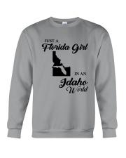 JUST A FLORIDA GIRL IN AN IDAHO WORLD Crewneck Sweatshirt thumbnail