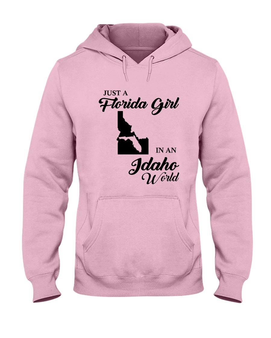 JUST A FLORIDA GIRL IN AN IDAHO WORLD Hooded Sweatshirt