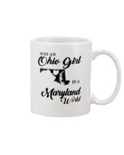 JUST An OHIO GIRL IN A MARYLAND WORLD Mug thumbnail