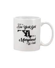 JUST A NEW YORK GIRL IN A MARYLAND WORLD Mug thumbnail