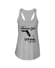 JUST A TENNESSEE GIRL IN A FLORIDA WORLD Ladies Flowy Tank thumbnail