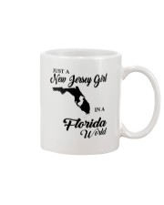 JUST A NEW JERSEY GIRL IN A FLORIDA WORLD Mug thumbnail