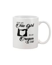 JUST An OHIO GIRL IN An OREGON WORLD Mug thumbnail