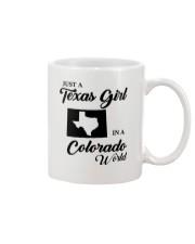 JUST A TEXAS GIRL IN A COLORADO WORLD Mug thumbnail