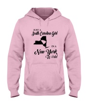 JUST A SOUTH CAROLINA GIRL IN A NEW YORK WORLD Hooded Sweatshirt front