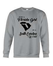 JUST A FLORIDA GIRL IN A SOUTH CAROLINA WORLD Crewneck Sweatshirt thumbnail