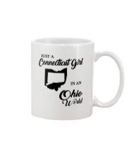 JUST A CONNECTICUT GIRL IN An OHIO WORLD Mug thumbnail