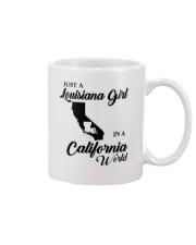 JUST A LOUISIANA GIRL IN A CALIFORNIA WORLD Mug thumbnail