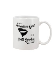 JUST A TENNESSEE GIRL IN A SOUTH CAROLINA WORLD Mug thumbnail