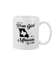 JUST A TEXAS GIRL IN A MISSOURI WORLD Mug thumbnail