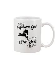 JUST A MICHIGAN GIRL IN A NEW YORK WORLD Mug thumbnail
