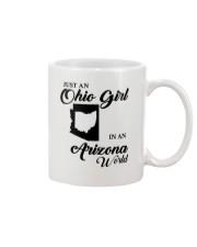 JUST An OHIO GIRL IN An ARIZONA WORLD Mug thumbnail
