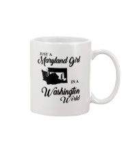 JUST A WASHINGTON GIRL IN A MARYLAND WORLD Mug thumbnail