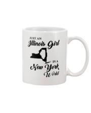 JUST AN ILLINOIS GIRL IN A NEW YORK WORLD Mug thumbnail